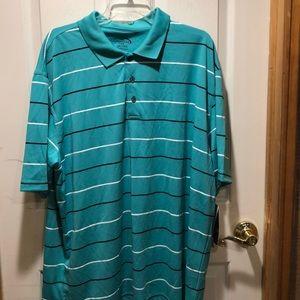 Short sleeved collard shirt